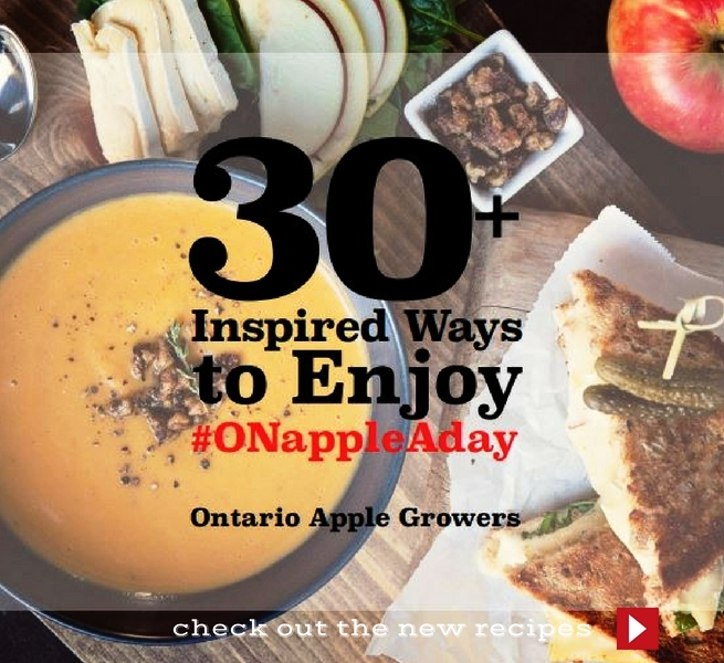 30+ Inspired Ways to Enjoy #ONappleAday
