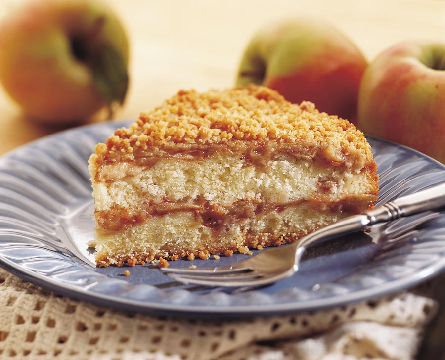 Apple Crumble Coffeecake