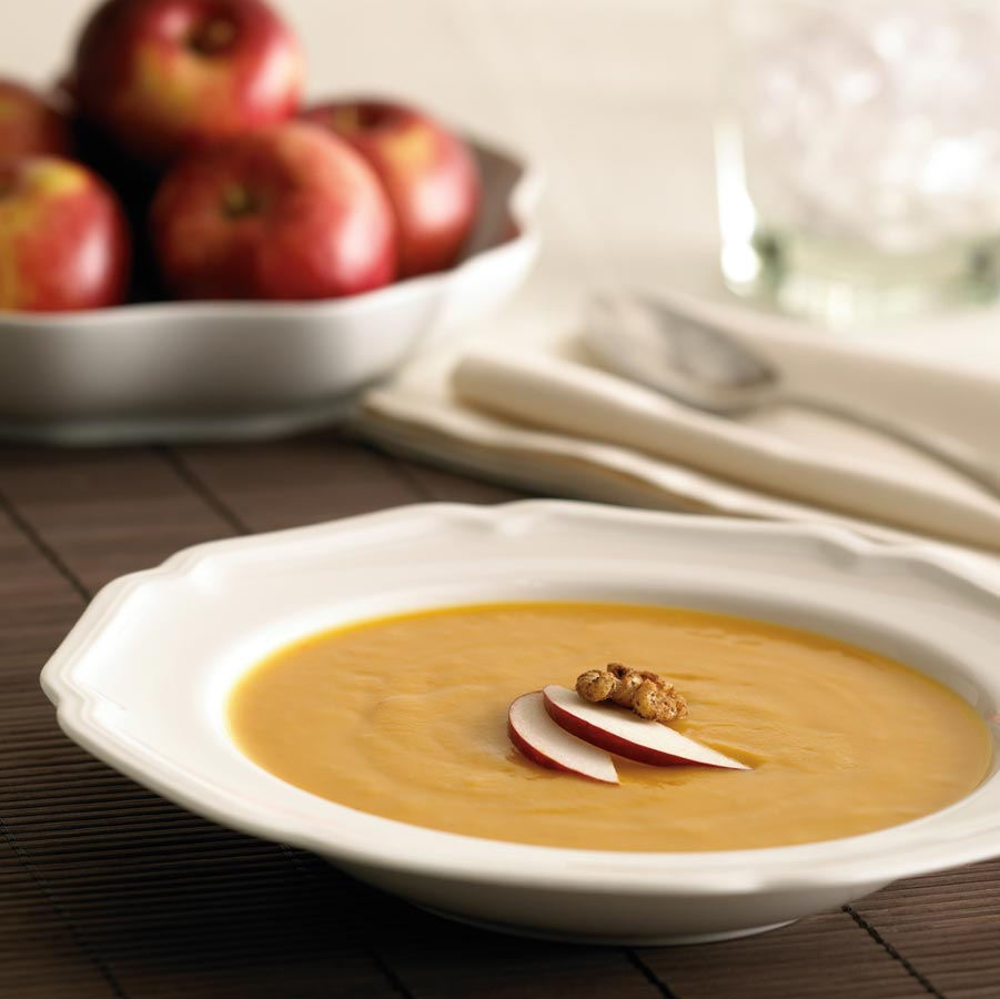 Apple Growers : Recipe : Roasted Ontario Apple and Sweet Potato Soup ...