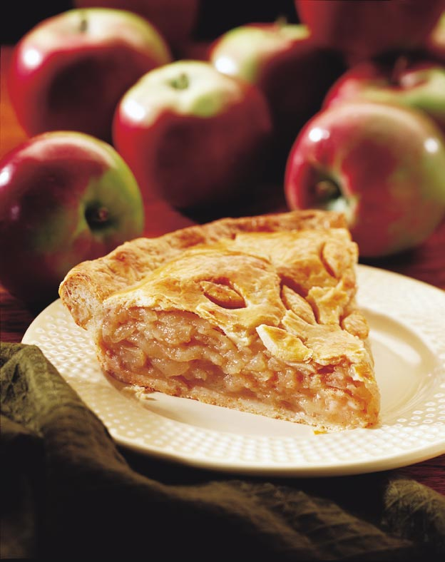 Harvest Apple Pie with Cheddar Crust